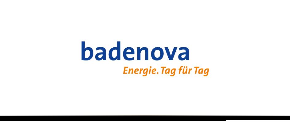 Das Logo des communicativa-Kunden badenova