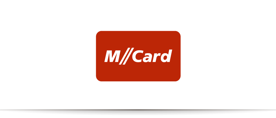 Das Logo des communicativa-Kunden M-Card