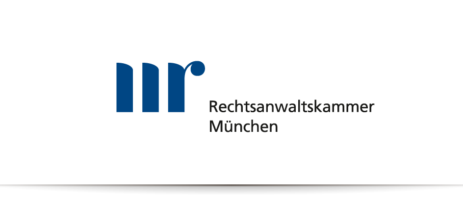Das Logo des communicativa-Kunden Rechtsanwaltskammer München