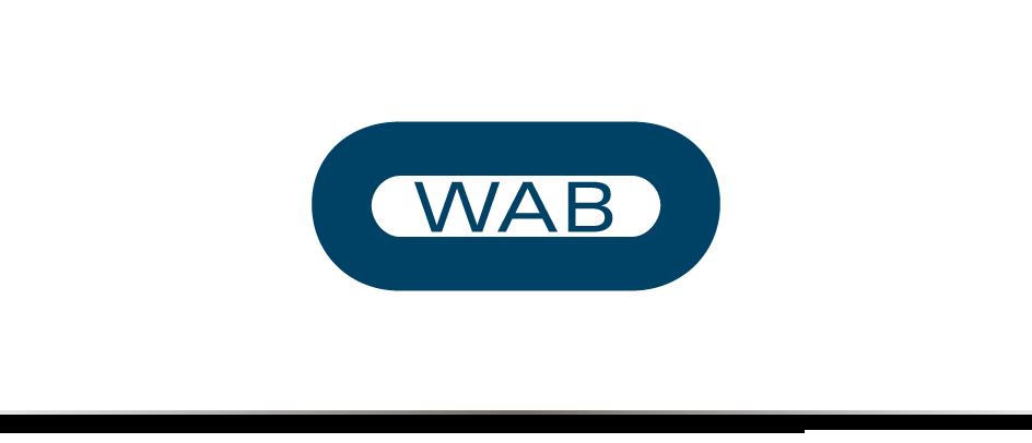 Das Logo des communicativa-Kunden WAB