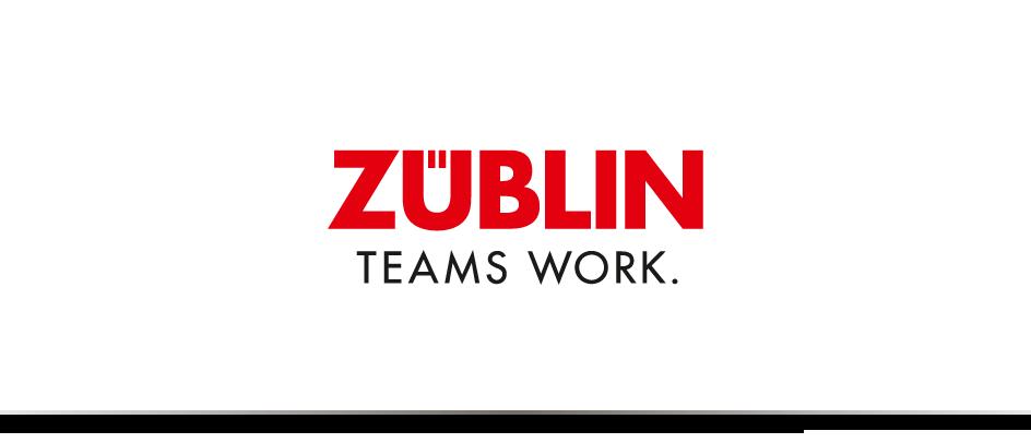 Das Logo des communicativa-Kunden Züblin