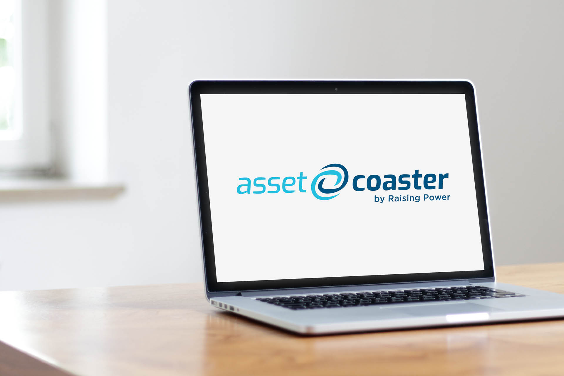 Raising Power Corporate Design Logo der Software Asset Coaster