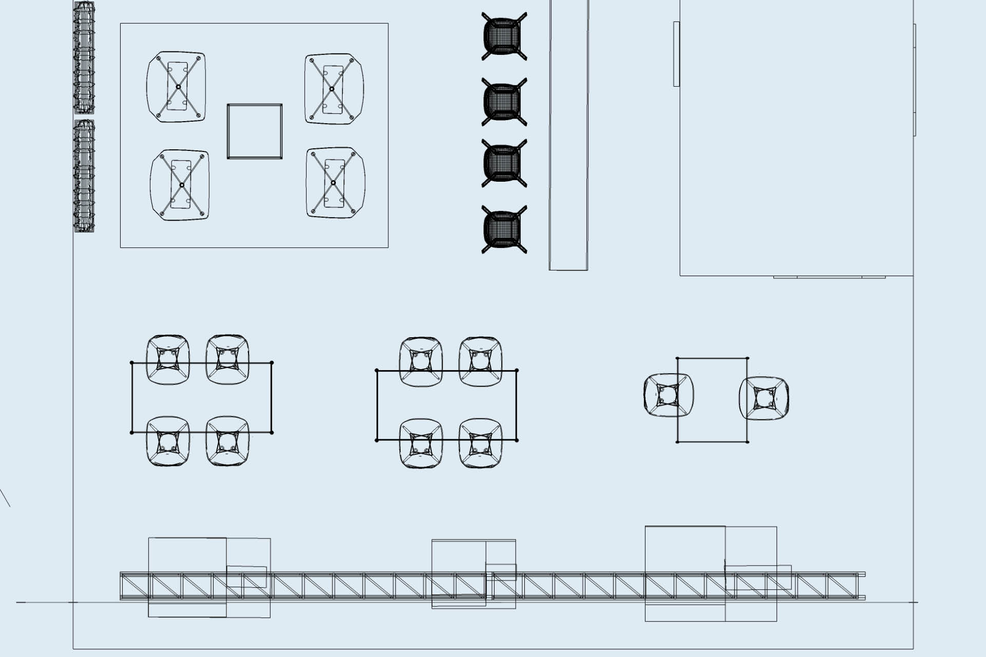 WAB Messestand Variante Grundriss groß