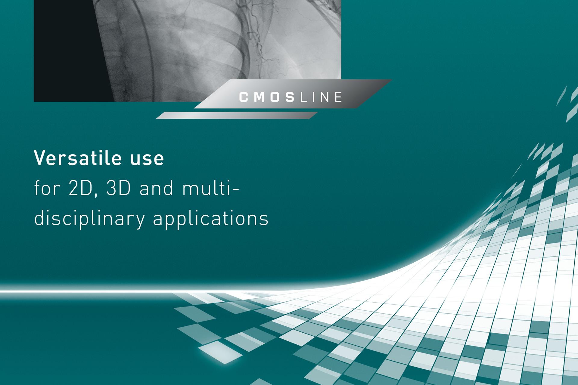 Detailaufnahme Key Visual, CMOSline Logo und Text