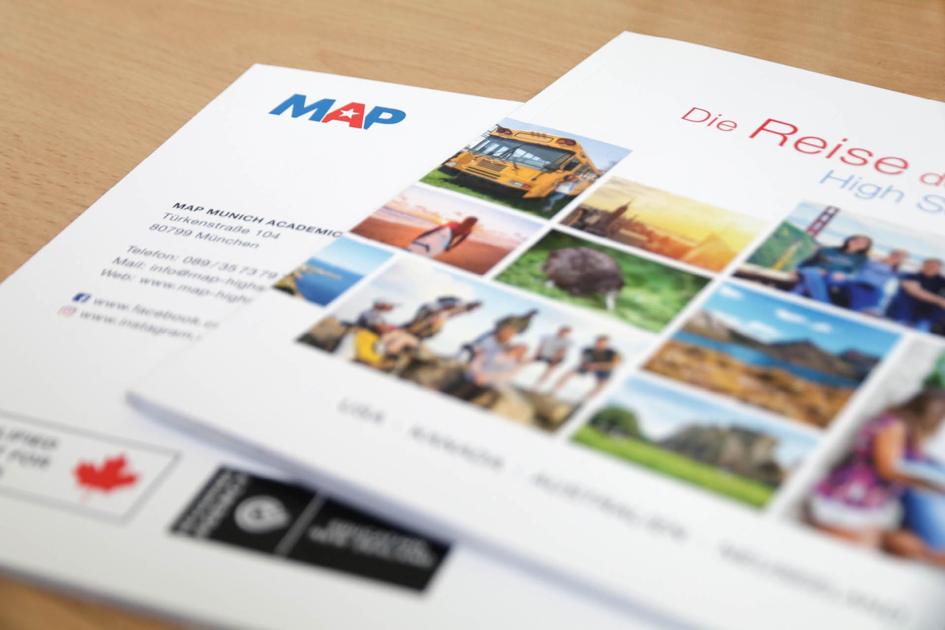 MAP Re-Design Katalog Titel und Rückseite
