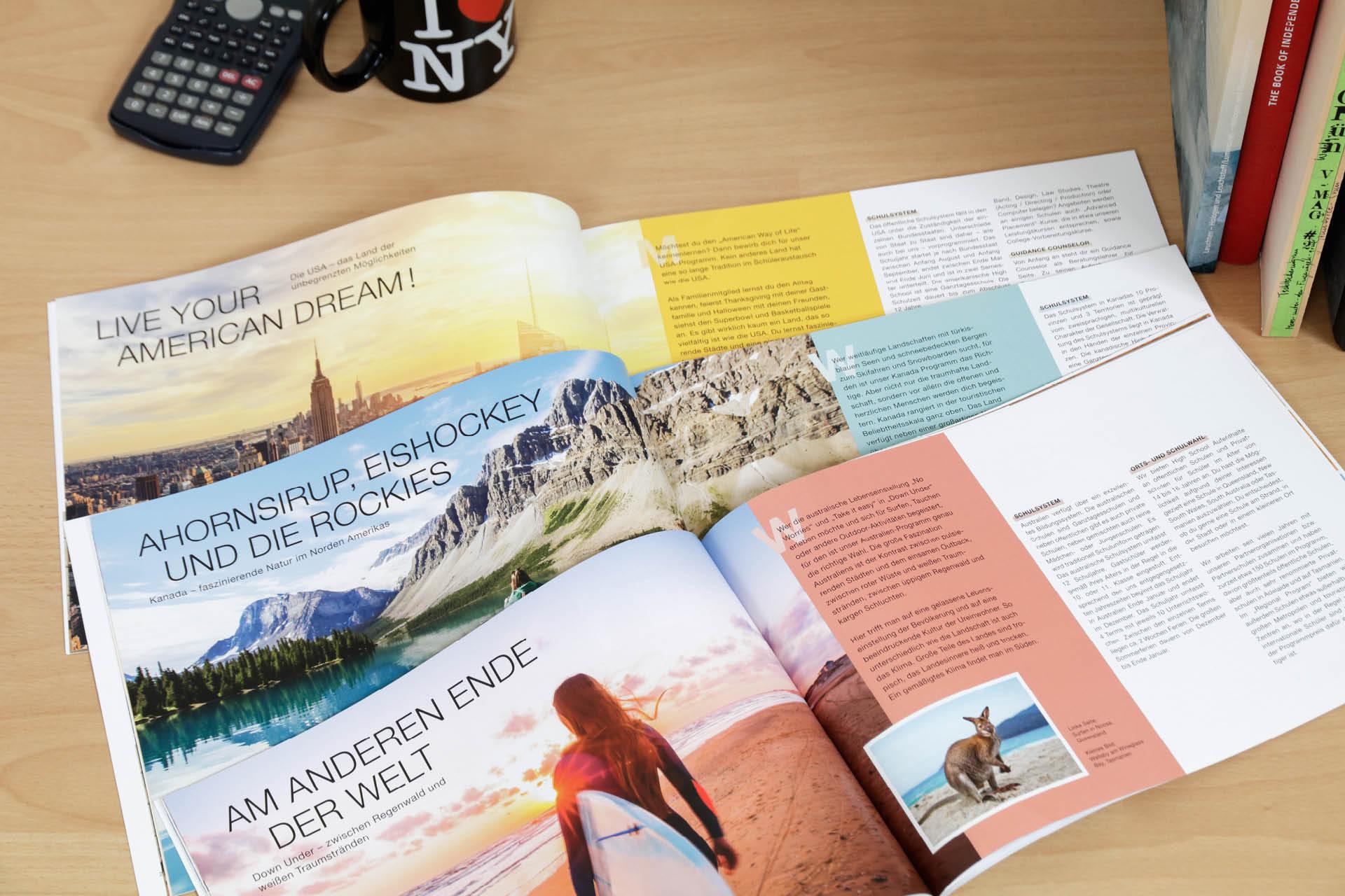MAP Re-Design Katalog Kapitel USA Canada Australien