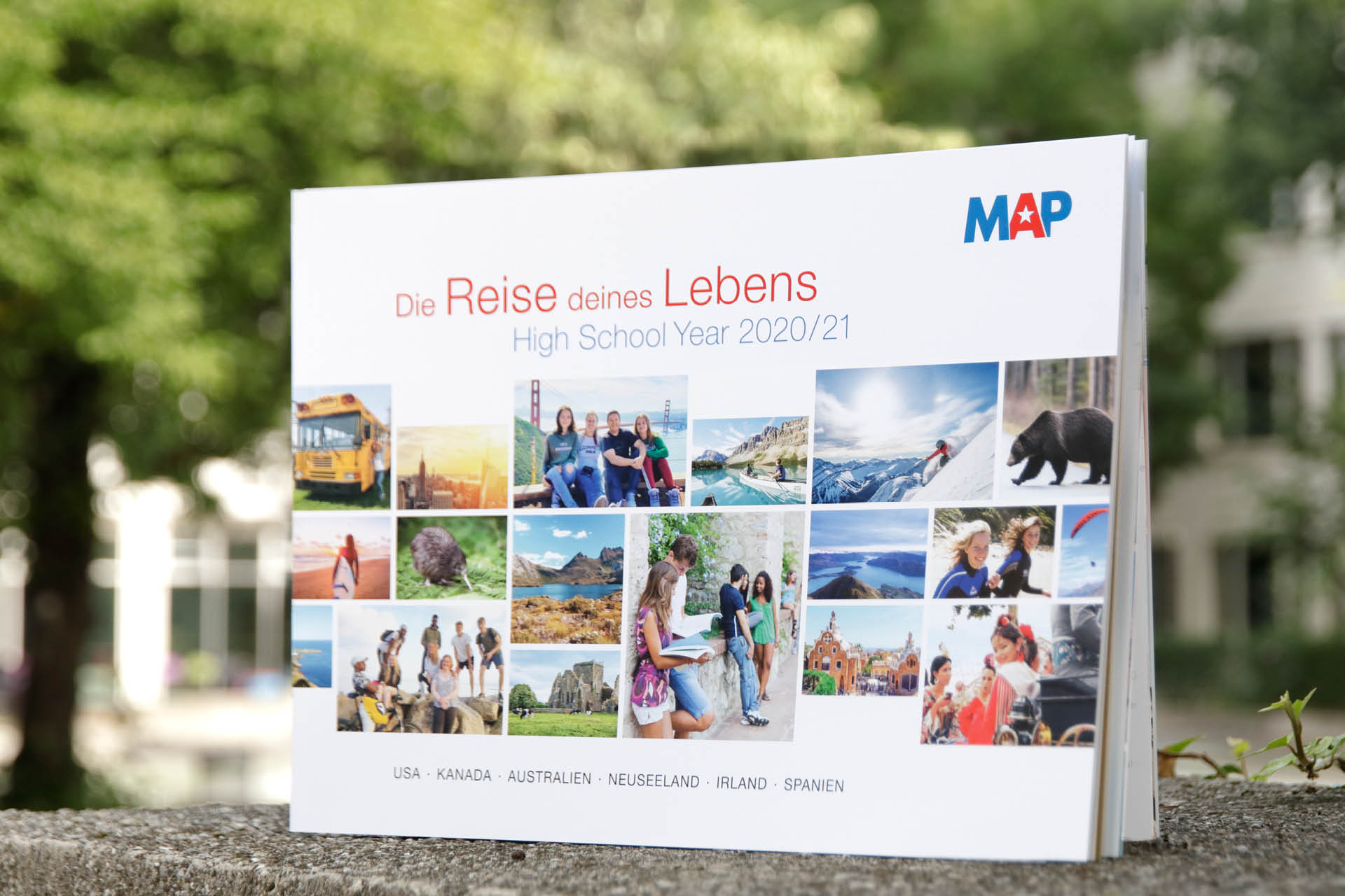 MAP Katalog Re-Design von Werbeagentur communicativa München